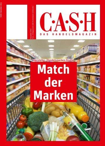 Hersteller-/Handelsmarken-Studie - Cash