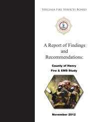 Download It - Virginia Department of Fire Programs