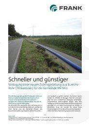 Gemeinde Minfeld erhält eine neue Sureline ... - Frank GmbH