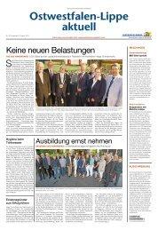 Nr. 16/2013 - Handwerkskammer Ostwestfalen-Lippe zu Bielefeld