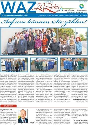 Ausgabe Zerbst - Heidewasser GmbH