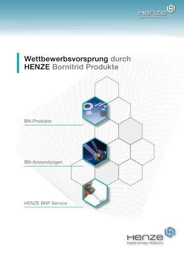 Download Unternehmensbroschüre (PDF) - Henze Boron Nitride ...