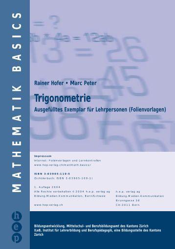 Trigonometrie - hep verlag