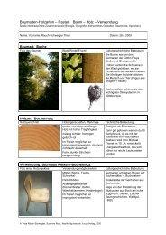 Baumarten-Holzarten – Raster Baum – Holz ... - hep verlag