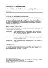 Instrument 6.2. – Texte didaktisieren - hep verlag