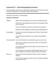 Instrument 4.3. – Gute Prüfungsfragen formulieren