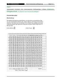 Konzentrationstest - hep verlag