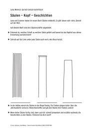 Säulen – Kopf – Geschichten - hep verlag