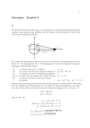 Lösungen - Kapitel 8 1