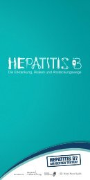 Die Erkrankung, Risiken und Ansteckungswege - Hepatitis B - Am ...