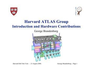Harvard ATLAS Group