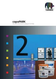 The Benefits of capaPARK coatings: 1. 2. 3. - Rio Group