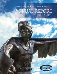 Annual Report 2013.indd - Culver Academies