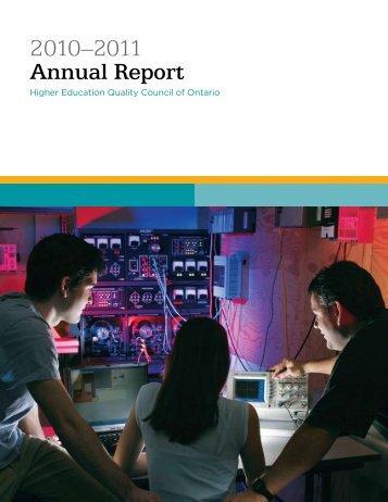 2010/11 Annual Report