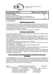 FS-Rundschreiben 2013-03 - Amt für Ernährung, Landwirtschaft und ...