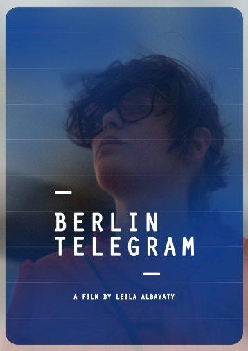 download Press kit - BERLIN TELEGRAM