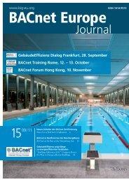 Bacnet Europe Journal 15 - 09/11 (6MB - Bacnet Interest Group ...