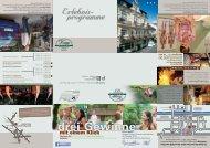 Erlebnisprogramme 2013/14 - Hotel Krupp