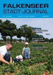 Juli 2013 - Falkenseer Stadtjournal