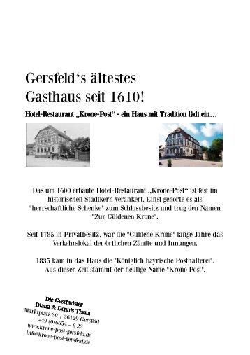 Hotel Post Traunkirchen Speisekarte