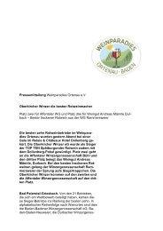 Pressemitteilung Weinparadies Ortenau e.V. Oberkircher Winzer die ...