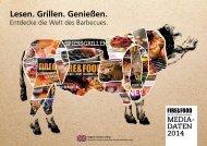MEDIA- DATEN 2014 - Fire & Food