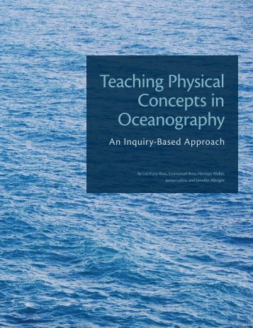 Teaching Physical Concepts in Oceanography - Maine In-situ Sound ...
