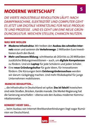MoDerne Wirtschaft 5 - SPD