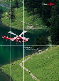 Rega 2013 mit Jahresbericht 2012