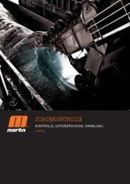 STAUBKONTROLLE - Martin Engineering