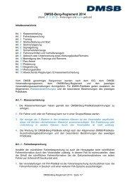Sportliches Reglement Bergrennen 2014 - DMSB