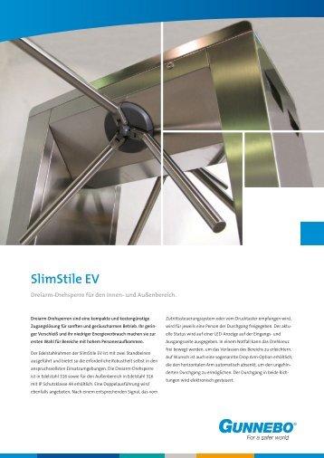 Technische Daten SlimStile EV - Gunnebo