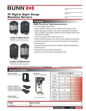 bunn dual tf dbc manual