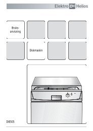 Bruks- anvisning Diskmaskin DI8505 - Elon