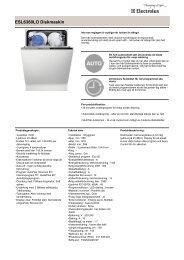 ESL6360LO Diskmaskin - Hemexperten