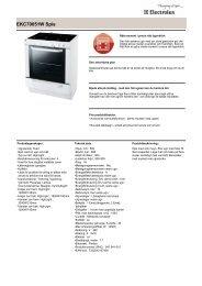 EKC70051W Spis - Hemexperten