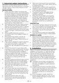Washing Machine Vaskemaskine Tvättmaskin Pralka ... - Hemexperten - Page 2