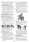 Washing Machine Vaskemaskine Tvättmaskin Pralka ... - Hemexperten - Page 3