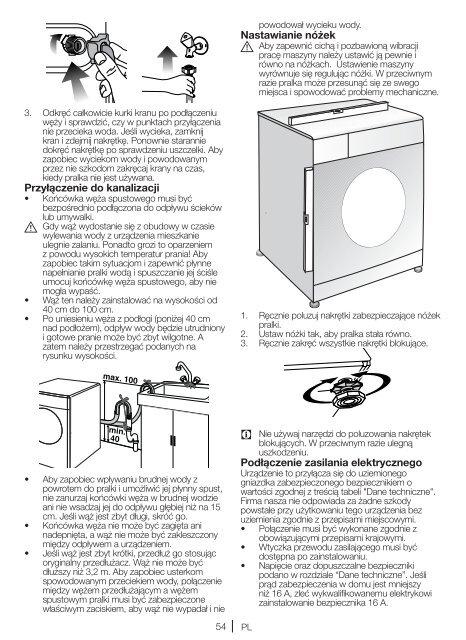 Washing Machine Vaskemaskine Tvättmaskin Pralka ... - Hemexperten