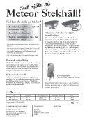 Meteor Stekhäll! al Bruksanvisning / Owners man - Elon - Page 2