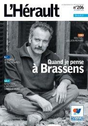 à Brassens - Conseil Général de l'Hérault