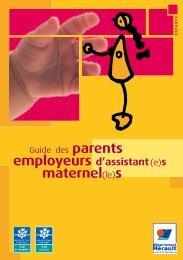 Guide des parents employeurs - Conseil Général de l'Hérault