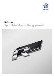 R-Line Sportliche Ausstattungspakete - Autohaus Perski ohg