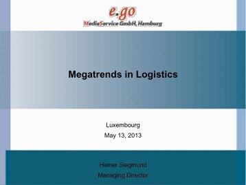 Megatrends in Logistics