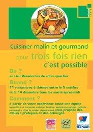 pour trois fois rien - Conseil Général de l'Hérault