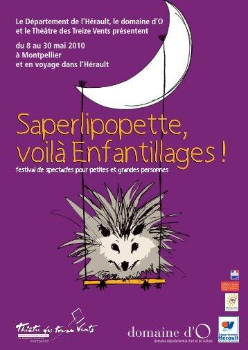 Programme 2010 - Les Archives du Spectacle