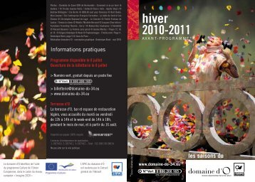 hiver 2010-2011 - Conseil Général de l'Hérault
