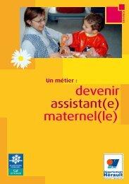 Devenir assistante maternelle - Conseil Général de l'Hérault