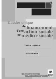 dossier oprateur - Conseil Général de l'Hérault