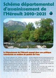 Schéma départemental d'assainissement de l'Hérault 2010-2021